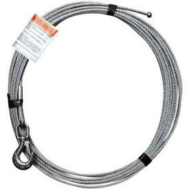 "OZ Lifting OZGAL.25-55B 1/4"" Galvanized Cable Assembly for COMPOZITE Davit Crane"