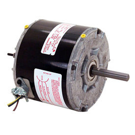 "Century 744A, 5 5/8"" Split Capacitor Condenser Fan Motor - 208-230 Volts 1075 RPM"