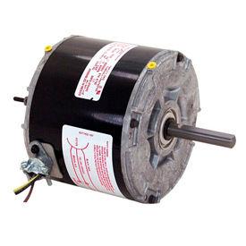 "Century 744A, 5 5/8"" Split Capacitor Condenser Fan Motor - 208-230 Volts 1075 RPM"