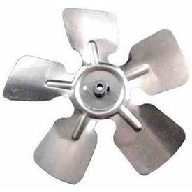 """9"""" Small Aluminum Fan Blade W/ Hub - 1/4"""" Bore Ccw - Min Qty 7"""