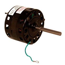 """Century Bl6424, 5"""" Shaded Pole Motor - 1050 RPM 115 Volts"""