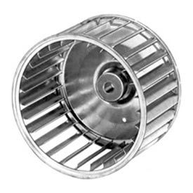 "Fasco Galvanized Steel Blower Wheel - 3 27/32"" Diameter 1/4"" Bore"