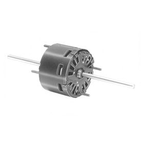 "Fasco D129, 3.3"" Double Shaft Motor - 115 Volts 1500 RPM"