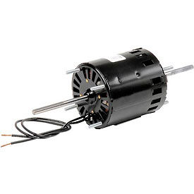 Electric motors hvac 3 diameter fasco d209 3 3 for Double ended shaft electric motor