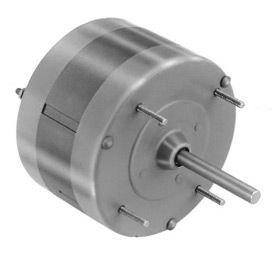 """Fasco D340, 5"""" Shaded Pole Motor - 115 Volts 1050 RPM"""