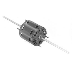 "Fasco D366, 3.3"" Double Shaft Motor - 115 Volts 1550 RPM"