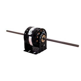 """Century DBL6503, 5"""" Double Shaft Blower Motor Resilient Base 115 Volts 1075 RPM 1/15 HP"""