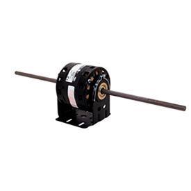 "Century DC4522, 5"" Double Shaft Blower Motor Less Base 208-230 Volts 1550 RPM 1/10 HP - 10-1/5"""