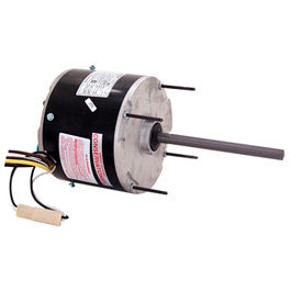 """Century F1026SB, 5 5/8"""" Split Capacitor Condenser Fan Motor - 208-230 Volts 1075 RPM"""
