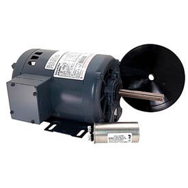 "Century FB3056, 6-1/2"" Outdoor Ball Fan Motor 208-230/460 Volts 1140 RPM 1/2 HP"
