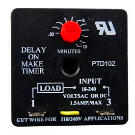 Delay On Make Timer - Min Qty 8