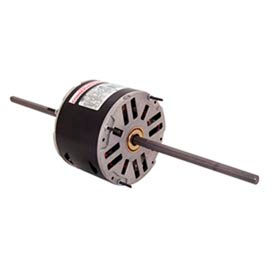 "Century RA1024, 5-5/8"" Double Shaft Fan/Blower Motor 208-230 Volts 1625 RPM 1/4 HP"