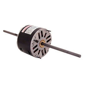 "Century SA1016, 5-5/8"" Double Shaft Air Conditioner Motor - 208-230 Volts 1/6HP"