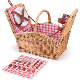 Picnic Time Piccadilly Willow Picnic Basket by