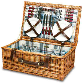 Picnic Time Newbury Willow Picnic Basket