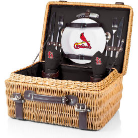 Champion Picnic Basket - Black (St. Louis Cardinals) Digital Print