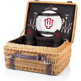 Champion Picnic Basket - Black (Indiana University Hoosiers) Digital Print