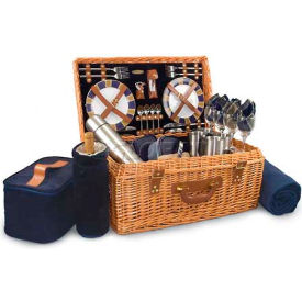 Picnic Time Windsor Willow Picnic Basket by