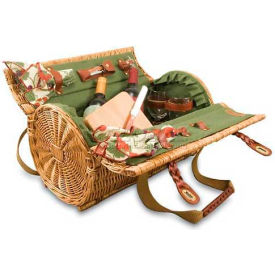 Picnic Time Verona Willow Picnic Basket