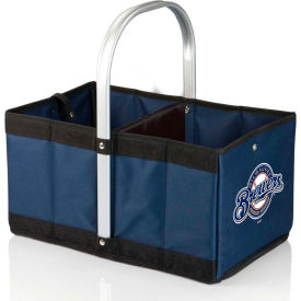Urban Basket - Navy/Slate (Milwaukee Brewers) Digital Print