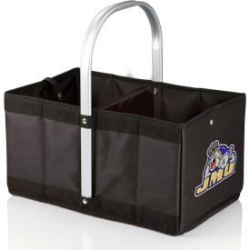 Urban Basket - Black (James Madison University Dukes) Digital Print