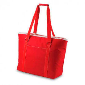 Picnic Time Tahoe Beach Tote Red