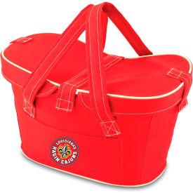 Mercado Basket - Red (U Of Louisiana Ragin Cajuns) Digital Print