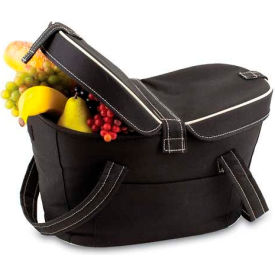 Picnic Time Mercado Basket, Black