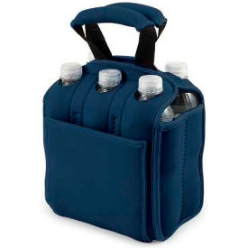 Picnic Time Six Pack Cooler Tote, Navy