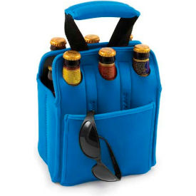 Picnic Time Six Pack Cooler Tote, Royal Blue