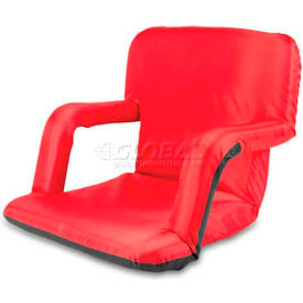 "Picnic Time Ventura Seat 618-00-100-000-0, 20""W X 2""D X 32""H, Red"