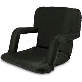 """Picnic Time Ventura Seat 618-00-179-000-0, 20""""W X 2""""D X 32""""H, Black"""