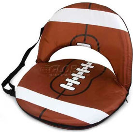 "Picnic Time Oniva Seat Sport 625-00-901-000-0, 29""W X 21""D X 2""H, Football Design"