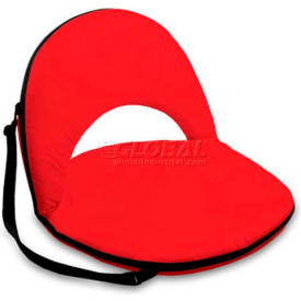 """Picnic Time Oniva Seat 626-00-100-000-0, 29""""W X 21""""D X 2""""H, Red"""