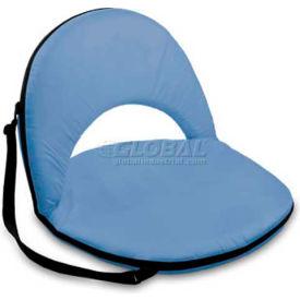 "Picnic Time Oniva Seat 626-00-137-000-0, 29""W X 21""D X 2""H, Sky Blue"