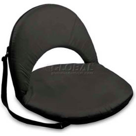 "Picnic Time Oniva Seat 626-00-179-000-0, 29""W X 21""D X 2""H, Black"