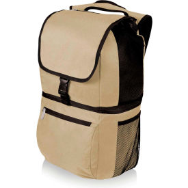 Picnic Time Zuma Insulated Cooler Backpack, Tan
