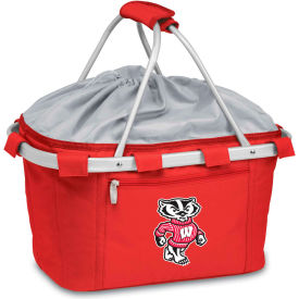 Metro Basket - Red (U Of Wisconsin Badgers) Digital Print