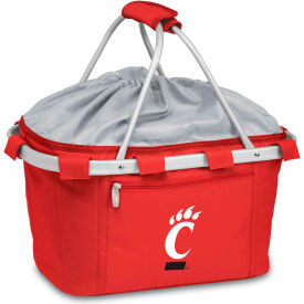 Metro Basket - Red (U Of Cincinnati Bearcats) Digital Print