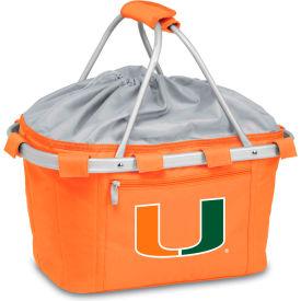 Metro Basket - Orange (U Of Miami Hurricanes) Digital Print