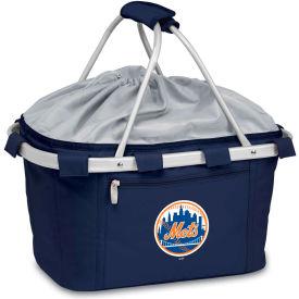 Metro Basket - Navy (New York Mets) Digital Print