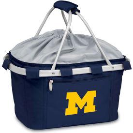 Metro Basket - Navy ( U of Michigan Wolverines) Embroidered