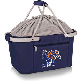 Metro Basket - Navy (U of Memphis Tigers) Embroidered