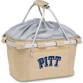 Metro Basket - Tan (U Of Pittsburgh Panthers) Digital Print