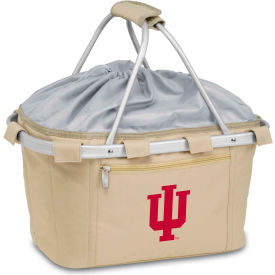 Metro Basket - Tan (Indiana U Hoosiers) Digital Print