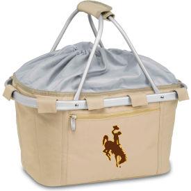 Metro Basket - Tan (U Of Wyoming Cowboys) Digital Print