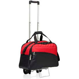 Picnic Time Tundra Cooler Tote with Trolley Red