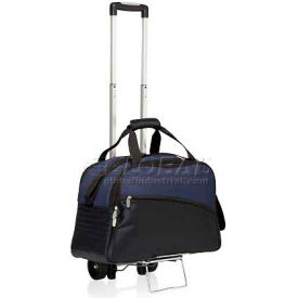 Picnic Time Tundra Cooler Tote with Trolley Navy