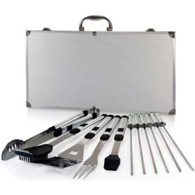 Picnic Time Mirage Pro Stainless Steel Barbecue Tool Set