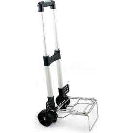 Picnic Time Folding Trolley with Telescoping Handle